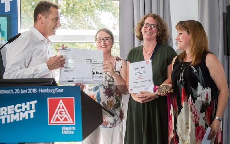 Verleihung der Georg-Bernard-Plakette